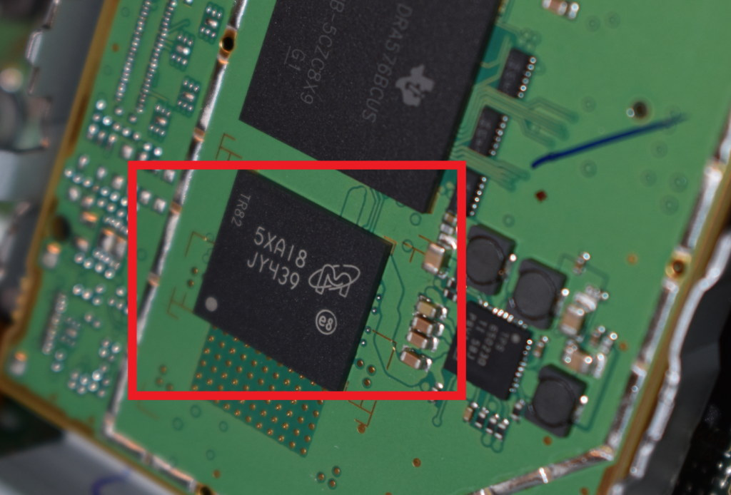 AB Forensics Infotainment System Chip-Off Forensics